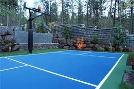 Best Backyard Basketball Court by Simple Design Backyard Basketball Court Ideas Beauteous Best