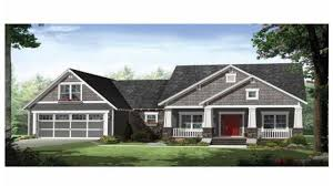 one story craftsman style homes top modern bungalow design craftsman ranch house plans stone plan