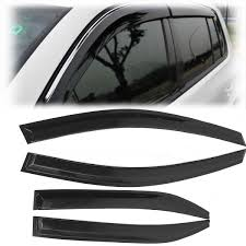 car stylingg awnings shelters 4pcs lot window visors for toyota