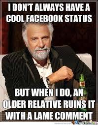 Memes For Facebook - cool facebook status by ben meme center