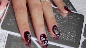 how to use moyou nail arttonailsart how to use nail art stamps
