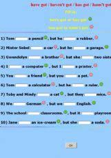 english exercises subject and verb
