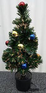 green revolving fibre optic 60cm tree lights pre