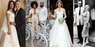 history of the wedding dress 50 iconic wedding dresses most memorable wedding gowns