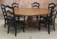 dining room rustic tables awesome wooden scenic dark oak table and