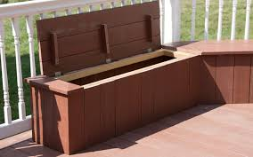 build deck storage bench seat when looking to acquire a fresh