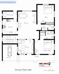 floor plan of residential house british west indies house plans print elevation view larger