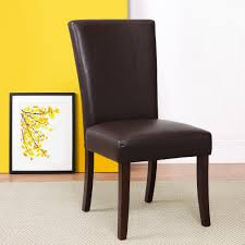 Parsons Chair Leather Product