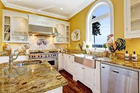 yellow kitchen walls white cabinets the best yellow kitchen decor you need to see shopping