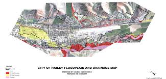 Flood Plain Map Floodplain And Drainage Map