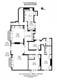 3 bedroom apartment floor plans spectacular 3 bedroom apartment in prince edward mansions london