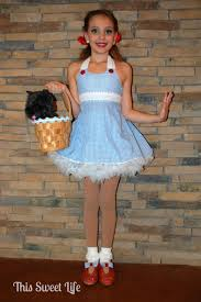 Dorthy Halloween Costumes Dorothy Halloween Costume Minute Homemade Halloween Costume