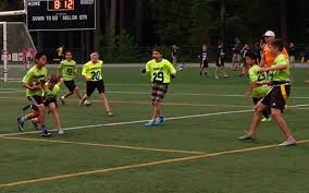 Flag Football Leagues Saints Make Flag Football Debut Results Pique Newsmagazine