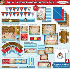 jake neverland pirate birthday party decorations jake