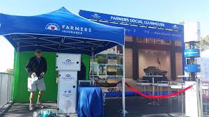 Canopy Photo Booth by 2016 Farmers Insurance Open Golf Green Screen Photo Booth