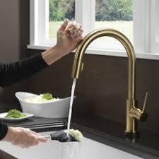 delta faucets for kitchen delta touch kitchen faucet visionexchange co