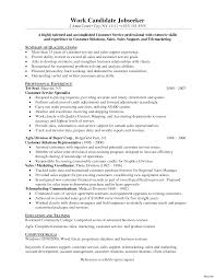 resume template for customer service transform resume sle customer service representative with