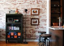 shelves for brick walls wall brickwork design ideas for modern living spaces interior