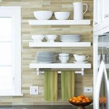 Backsplashes For Kitchen by How To Build And Install Floating Shelves In A Kitchen Backsplash