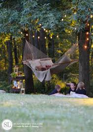 creative juices decor make your backyard cozy with a swing or