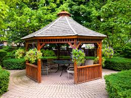 small backyard gazebo house decorations and furniture steps to