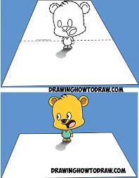 how to draw 3d cartoons step by step how to draw 3d shin chan