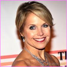 hairstyles of katie couric katie couric short hair stylesstar com