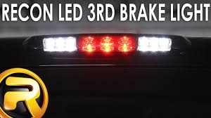 ford transit connect rear top third brake light l how to install the recon led 3rd brake light youtube