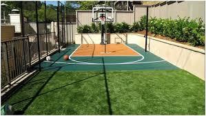 Backyard Sports Court by Backyards Ergonomic Backyard Sport Court 8 How Much Does A