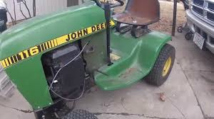 john deere 116 deck belt installation youtube