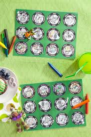 tmnt party placemats nickelodeon parents