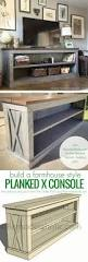 10 diy tv stands you can totally build at home consoles tvs and