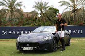 gold maserati granturismo maserati and la martina launch polostories the world of polo as