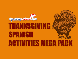 thanksgiving activities mega pack