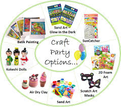 craft party sand art scratch art craft kits for kids