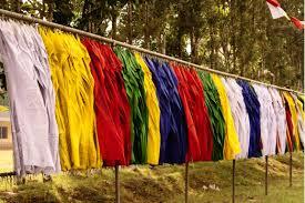 Prayer Flags Keep Smiling Tibetan Prayer Flags
