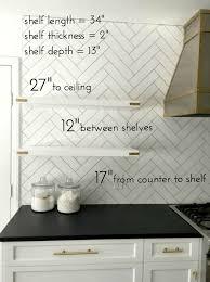 Kitchen Shelves Ideas Best 25 Open Kitchen Shelving Ideas On Pinterest Kitchen