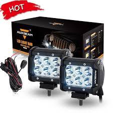 auxbeam led headlights light bars work lights and accessories