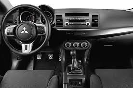 mitsubishi lancer 2017 interior mitsubishi lancer evolution sedan