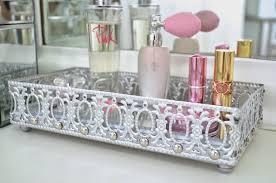 diy tray modern bohemian lifestyle diy mirrored vanity tray