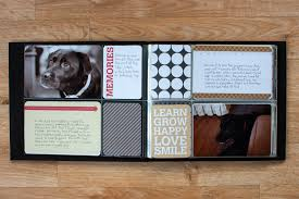 pet photo albums scrapbooking pets project mini album simple scrapper