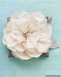 silk flowers for wedding how to make paper and fabric flowers for your wedding martha