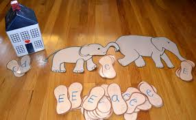 from the hive ee elephant day preschool style