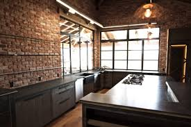 modern american kitchen kitchen modern rustic kitchen ideas with awesome brick stone