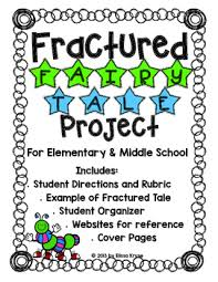 fractured fairy tale writing lesson on perspective w organizers