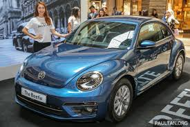 light pink volkswagen beetle volkswagen beetle updated bug in m u0027sia fr rm137k