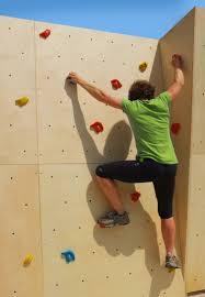 build a bouldering wall or climbing wall climb a wall