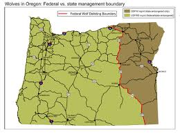 map of oregon mountains migrating imnaha wolf enters southwest oregon wallowa valley