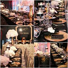 30th birthday party ideas black and gold 30th birthday party ideas 30th birthday party