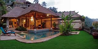 nice warm nuance of the balinese home design can be decor with